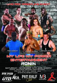 Pro-Wrestling in Miami Florida, November 14th 2015